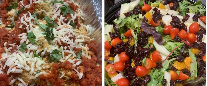grab and go dinners from foodies cafe family meals
